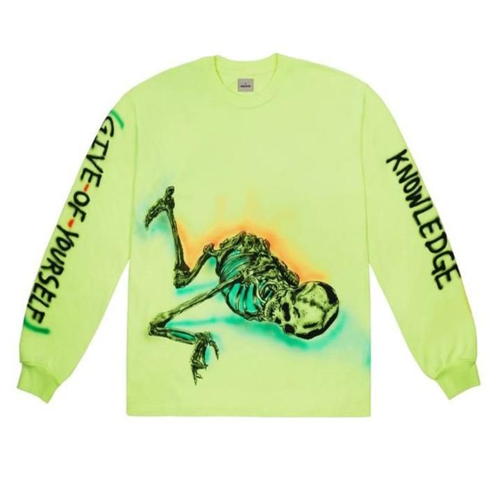Yeezy Wes Lang Skeleton Long Sleeve T Shirt Yeezy Shirt Ideas Of Yeezy Shirt Yeezyshirts Shirts Yeezy Wes Lang Skeleton Long Sleeve T Sh In 2020 Langeness Hemd