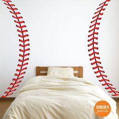 Puntadas de béisbol realista / cordones y otros por DoresesPieces