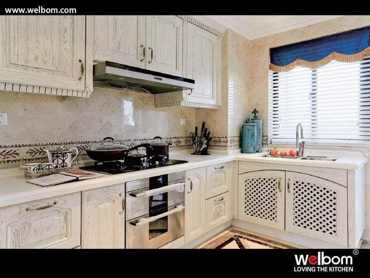 Muebles italianos clásicos de la cocina del diseño de la calidad – Muebles italianos clásicos de la cocina del diseño de la calidad proporcionado por Hangzhou Huierbang Kitchen Co., Ltd. a países hispanohablantes