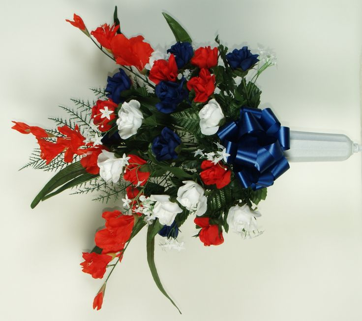 memorial day artificial flower arrangements