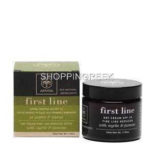 Apivita First Line Day Cream Fine Line Reducer SPF15