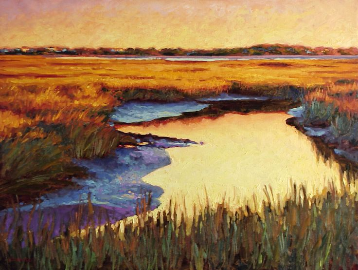 Pin By Luxury Simplified On Folly Beach Landscape Art