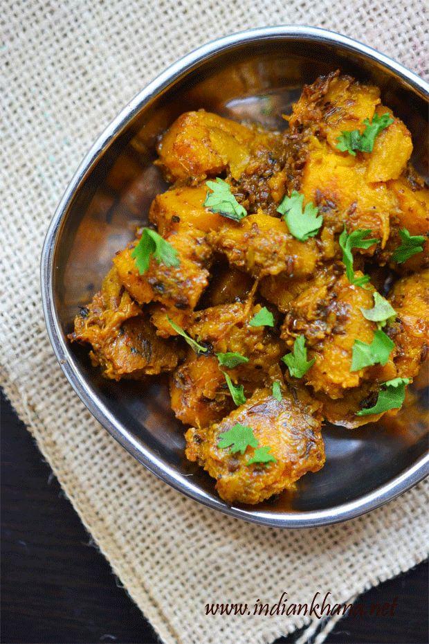 Falahari Khatta Meetha Kaddu   Sweet Sour Pumpkin for Navratri Vrat or fasting...