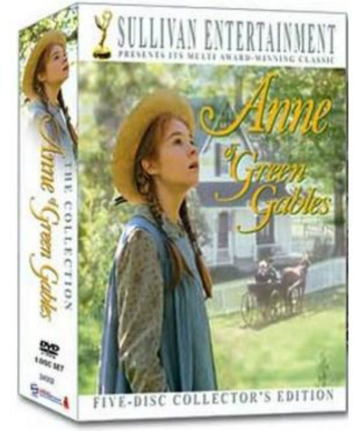 Anne Of Green Gables Dvd Set 20th Anniversary Collector S