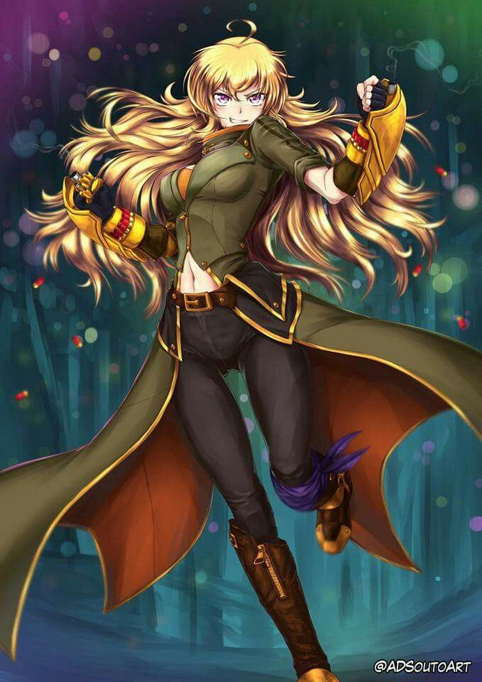 Yang in her badass new outfit!