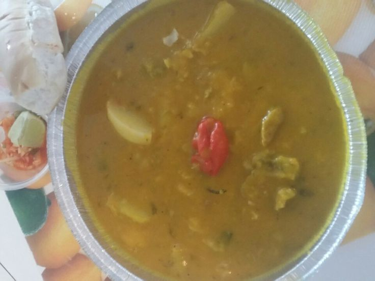 Soup Joumou  (We eat this all year, too good for only le 1er janvier - Haitian Independence Day)