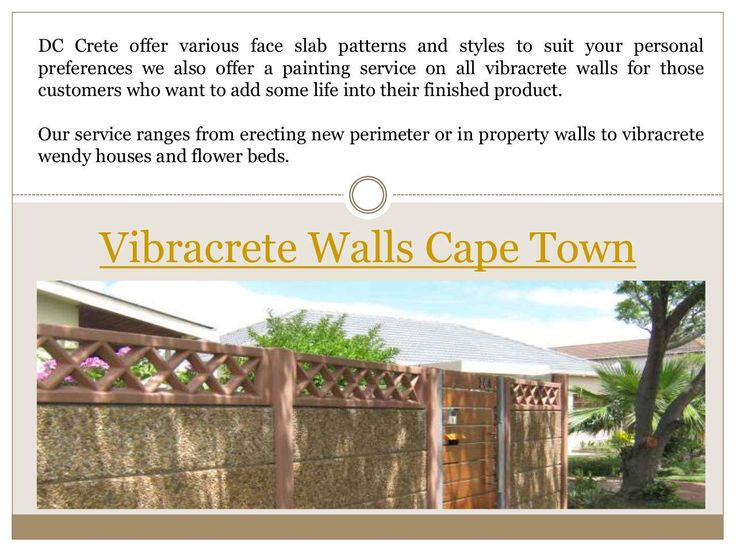 """Vibracrete raising Cape Town"" published by @Vibracretewalls on @edocr"