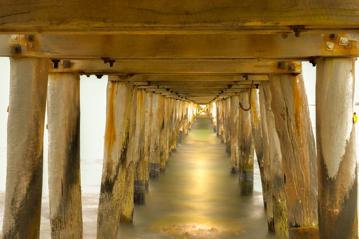 BENEATH POINT LONSDALE PIER by Julie Marinovic / 500px