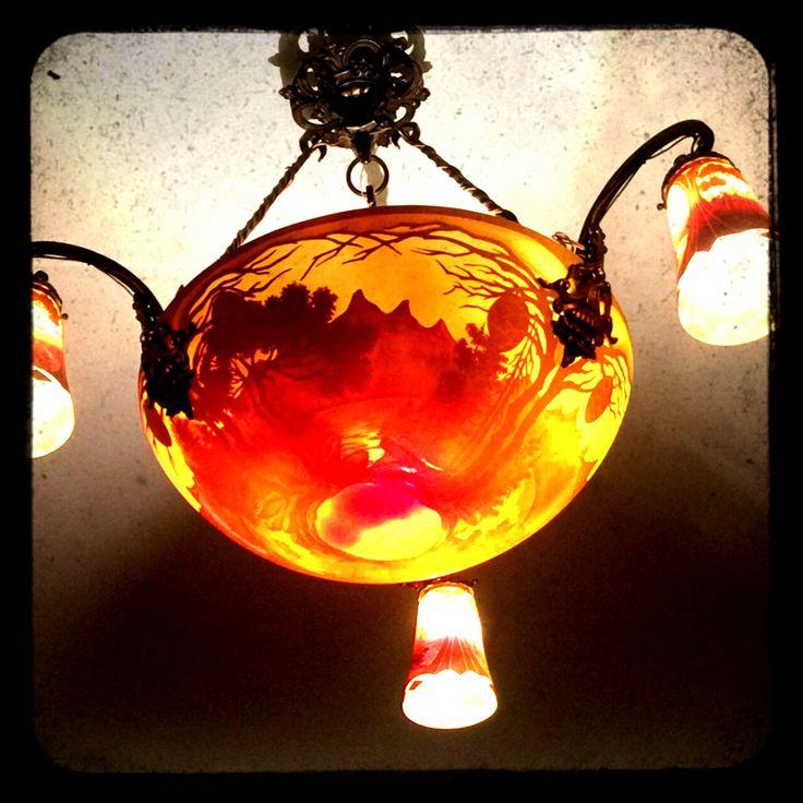 Muller Freres Luneville - gorgeous chandelier