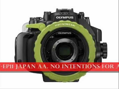 http://youtu.be/A7-3ytLawzk New OLYMPUS mirrorless SLR OM-D E-M1 for 45m Underwater Case PT-EP11 Japan aa