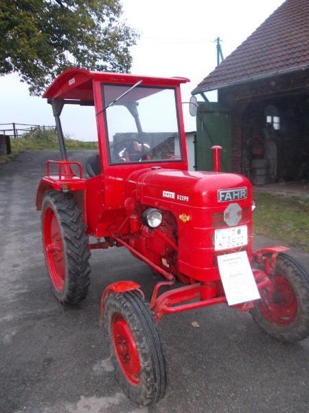 Fahr D 22 PH Oldtimer Traktor Einzelstück BJ 1953