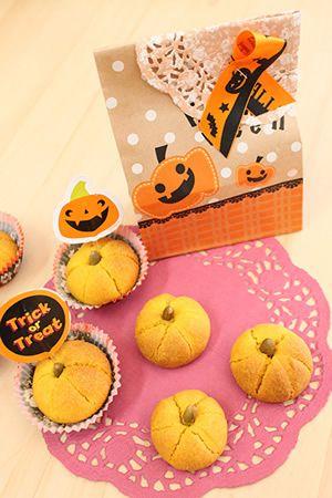 かぼちゃクッキー chococoこと友香さんの『簡単お菓子のレシピとラッピングの方法』【chococo + Cotta】