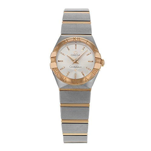 #ladiesgoldwatch #rosegoldwatchladies Omega Constellation Ladies Mini Watch 123.20.24.60.02.001  Constellation Check https://www.carrywatches.com