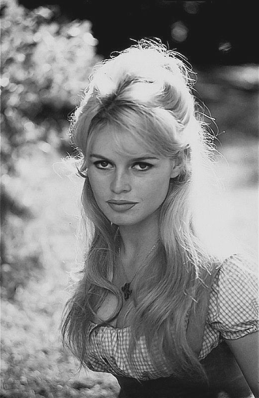 One of the most beautiful women of her day, Brigitte Bardot.