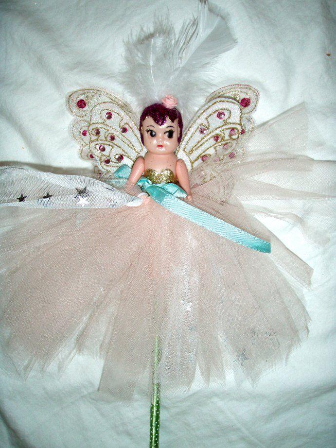 Carnival Cupie/Kewpie Doll on Stick