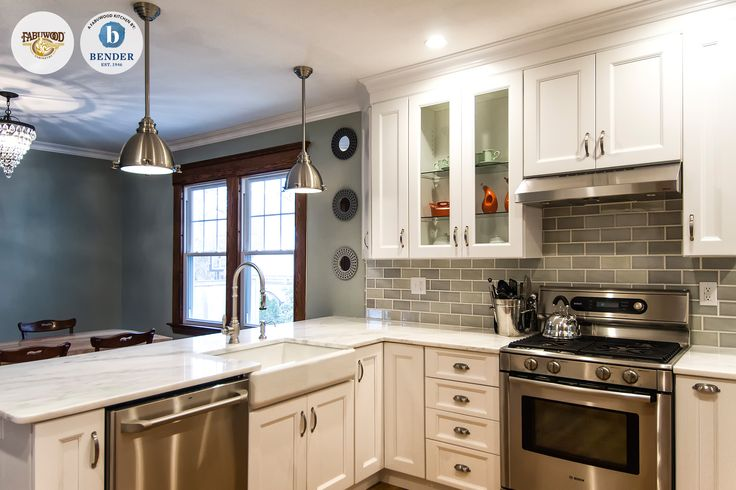 This Beautiful Fabuwood Nexus Frost Kitchen Was Built By
