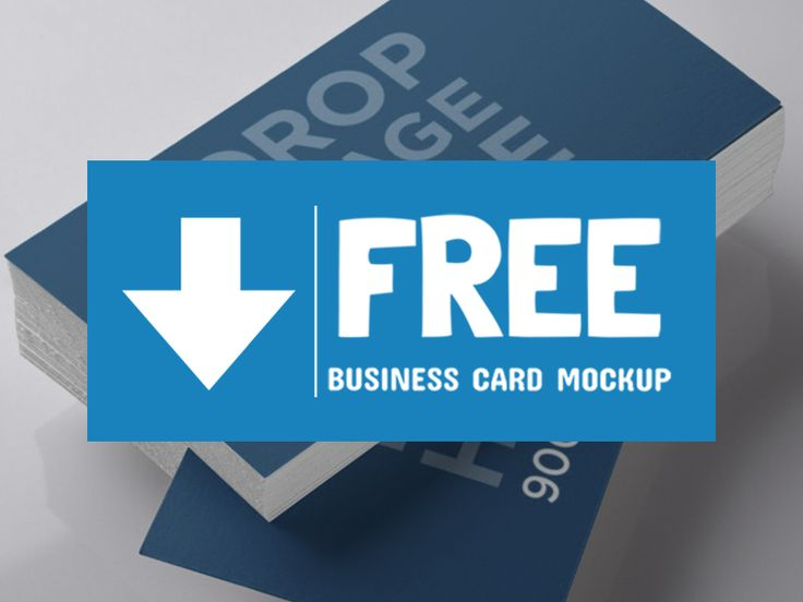 Free Business Card Mockup! by Placeit