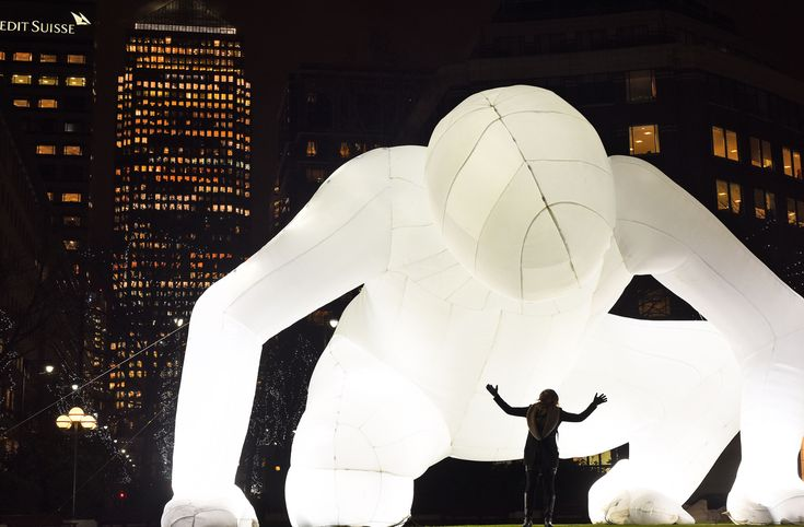Colossal Curates 'Inflatable: Expanding Works of Art' at San Francisco's Exploratorium Museum