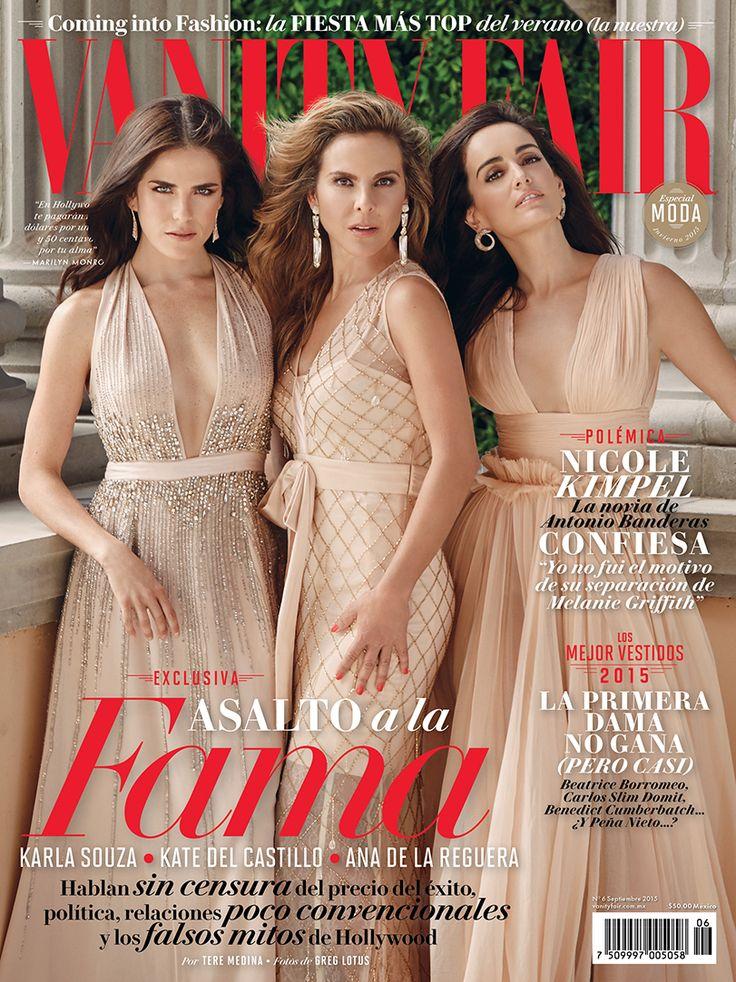 Septiembre - Karla Souza, Kate del Castillo y Ana de la Reguera en portada. ¡Ya a la venta!