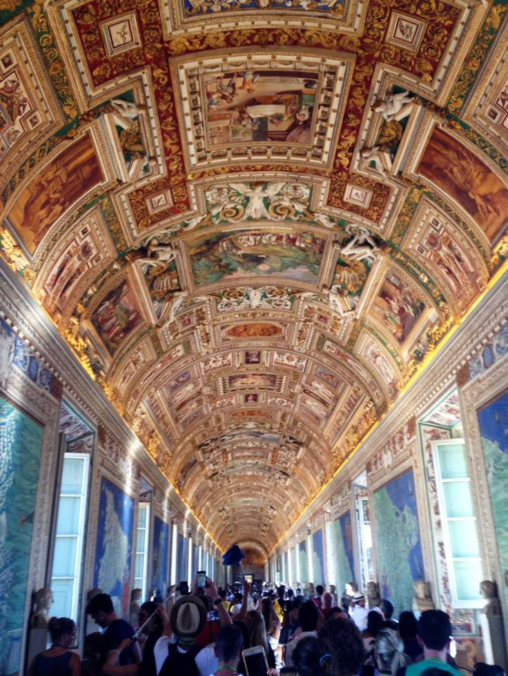 Gallery of maps, The Vatican