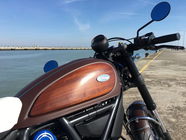 Ducati Scrambler Aqua by OCGarage
