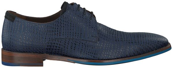 Blauwe Floris van Bommel Geklede schoenen 16280