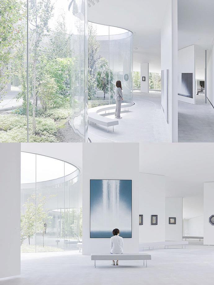 Hiroshi senju museum by ryue nishizawa architecture for Karuizawa architecture
