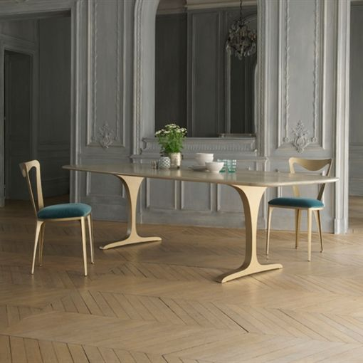 loved this at decorex angel dining table from tom faulkner