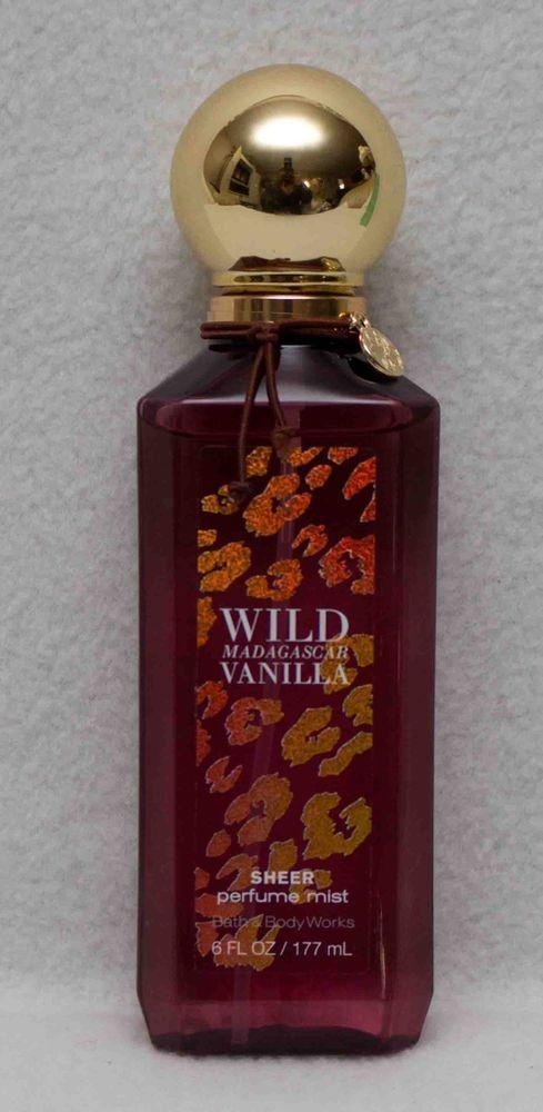 Bath & Body Works Wild Madagascar Vanilla Sheer Perfume Mist 6 fl oz  | eBay
