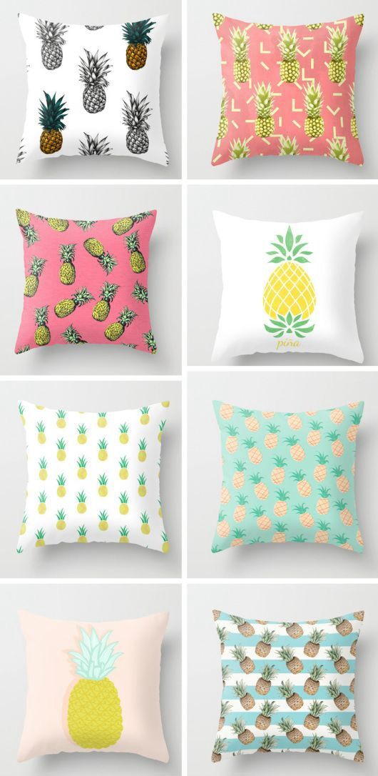 Pinneaple pillows!