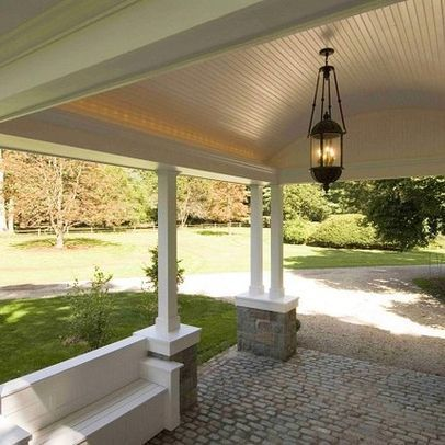 if we were to add to the front of house we could also - House Plans Drive Through Carport