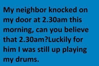 ba-dum-bum: The Doors, Laughing, Quotes, Funny Pictures, Neighbor Knock, Funny Stuff, Drums, Electric Guitar, Wall Photos