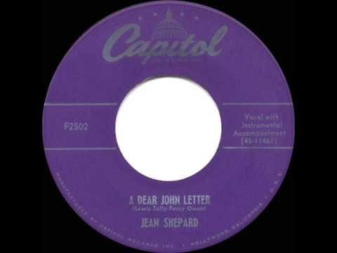 1953 HITS ARCHIVE: A Dear John Letter - Jean Shepard & Ferlin Husky