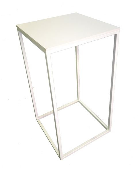 Awesome White High Top Bar Table