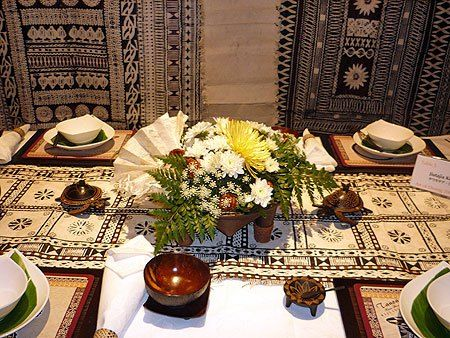 Traditional Fijian Decorations Etiquette And Manners