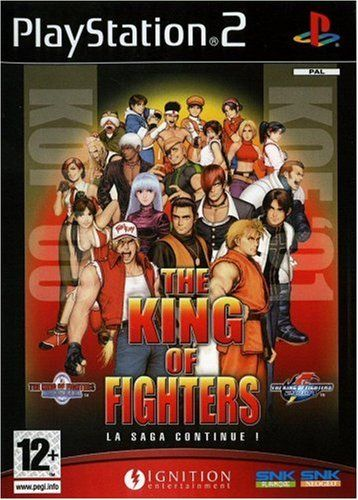 From 5.98 The King Of Fighters The Saga Continues (playstation 2)