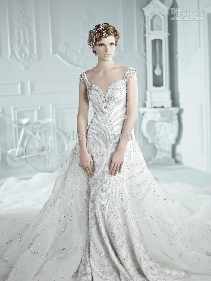 The 56 best Beautiful Wedding Dresses images on Pinterest   Wedding ...