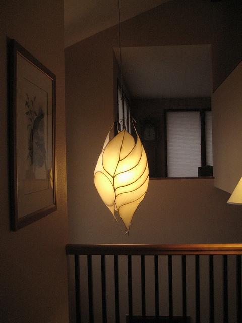 Good Lantern By Hiih, Via Flickr · Paper LampshadeLampshadesCeramic LightFlower LightsUnique  LightingLight DesignOrganic ShapesDriftwoodFiber Art Great Ideas