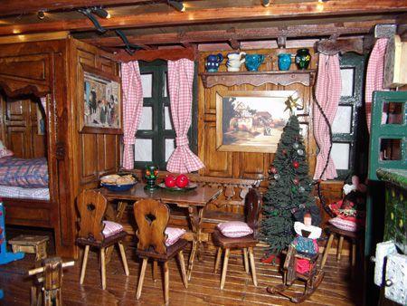 maison de poupée - vitrines miniatures