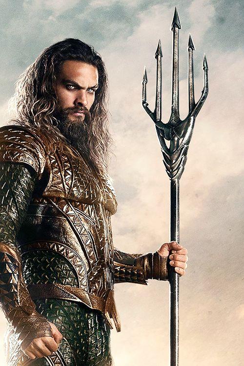 Jason Momoa as Aquaman.                               …