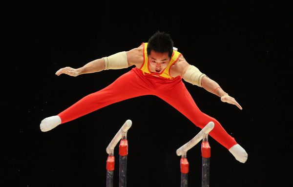 Chaopan Lin in 2015 World Artistic Gymnastics Championships - Day Six