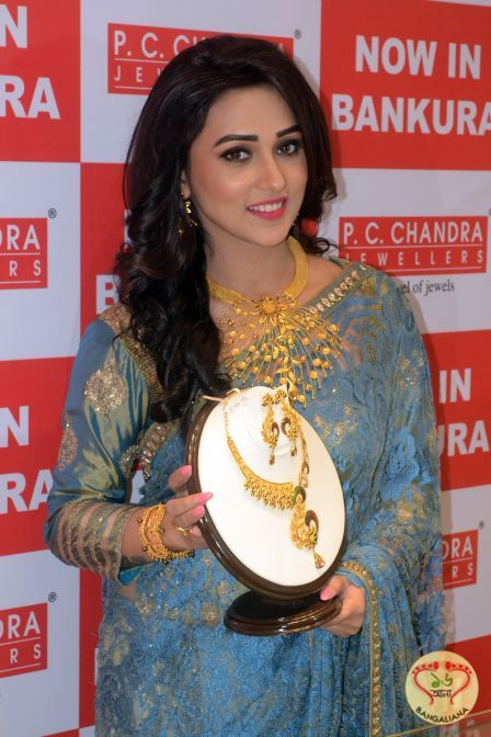 The Gorgeous Bengali Actress Mimi Inaugurates PC Chandra Jewellers store at Bankura http://fashion.sholoanabangaliana.in/the-gorgeous-bengali-actress-mimi-inaugurates-pc-chandra-jewellers-store-at-bankura/