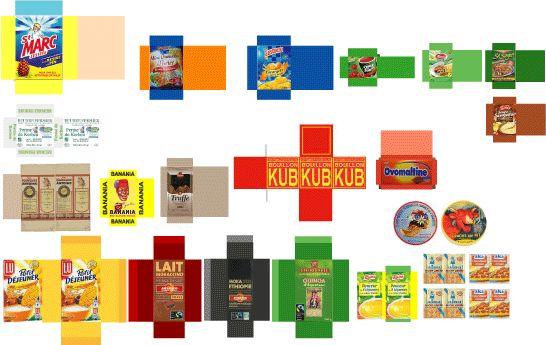Les 25 meilleures id es de la cat gorie maquette papier for Maquette cuisine 3d