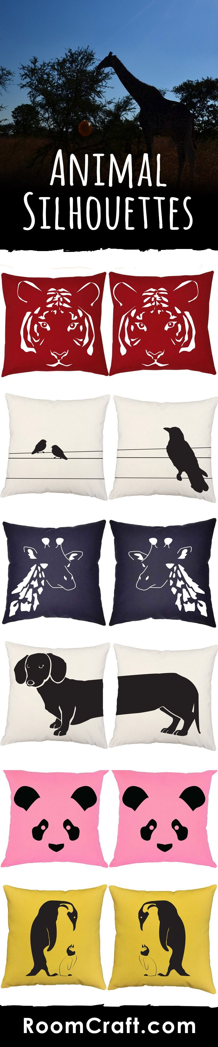 Animal Pillow Pinterest : 121 best images about Wild Animal Decor Ideas ~ Show Your Untamed Side on Pinterest Pillow ...