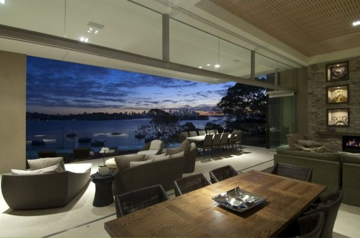 Vaucluse House by Bruce Stafford Architects in Sydney, Australia -- look at that view!!!
