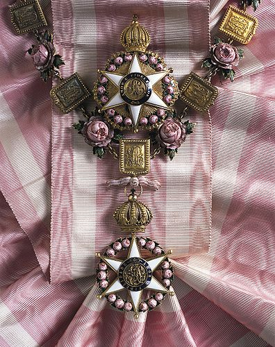 Order of the Rose of Brasil - Collar set
