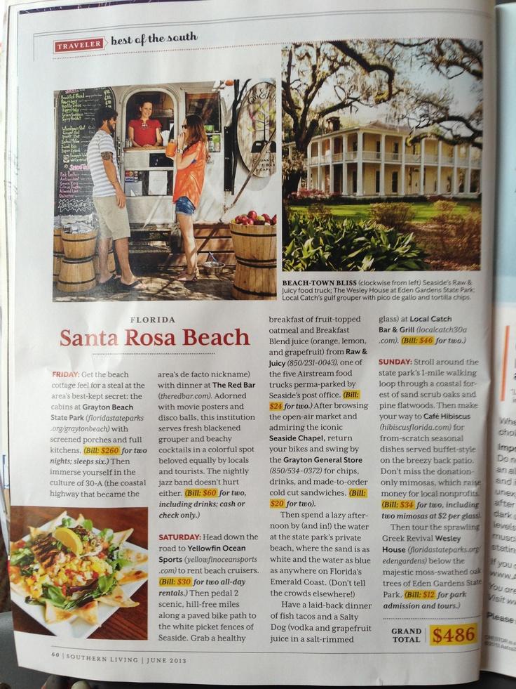 Santa Rosa Beach Florida From Southern Living