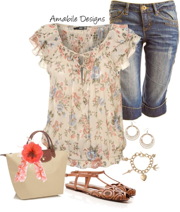"""""""Spring"""" by amabiledesigns on Polyvore"""