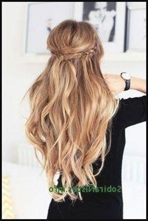 Trachten Frisuren Offen Elegant 25 Schone Abschlussball Frisuren