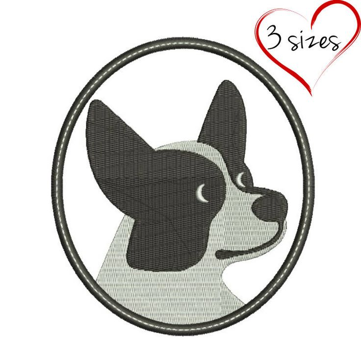 Welshi corgi embroidery machine design dog animal digital instant download pattern hoop file t-shirt puppy pes by SvgEmbroideryDesign on Etsy